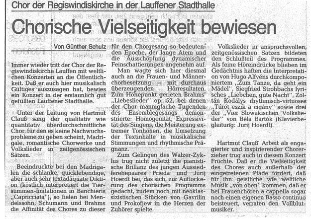 1989-05-04 Weidenbusch Presseecho 1