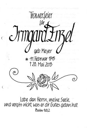 2013-06-04 Beerdigung Frau Enzel
